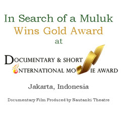 In Search of a Muluk wins Gold Award…